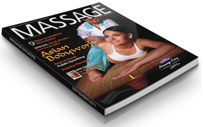 Image of Massage Magazine September 2011